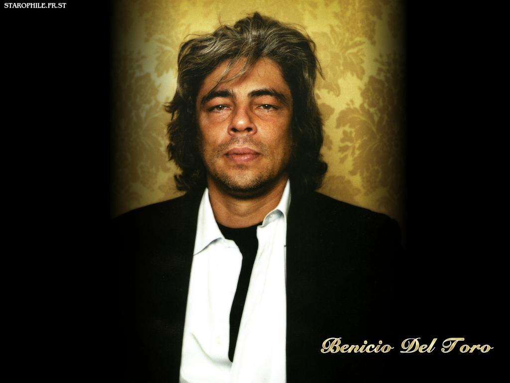 ... hot model photos des stars - Benicio Del Toro hot model photos